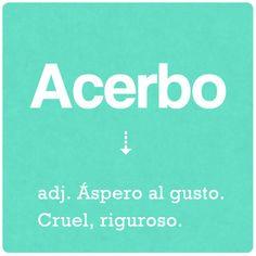 Acerbo