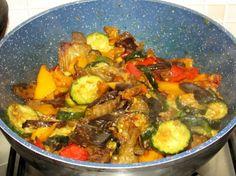 curry di verdure e zenzero
