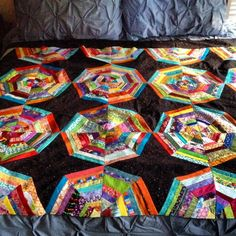 spider web quilts.  Quilt Board.