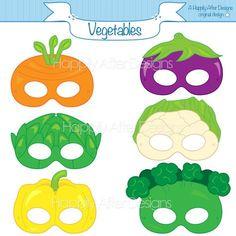 Nutrition Lessons For Kids Printable Masks, Printables, Nutrition Crafts For Kids, Science Nutrition, Food Nutrition, Carrot Mask, Vegetable Crafts, Banana Mask, Fruit Costumes