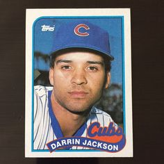1989 Topps DARRIN JACKSON #286 Chicago Cubs  | Sports Mem, Cards & Fan Shop, Sports Trading Cards, Baseball Cards | eBay!