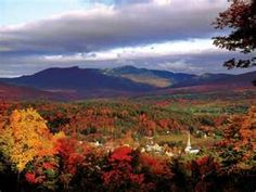 Stowe, Vermont in the Fall  @Alex Macgregor lets live here!!
