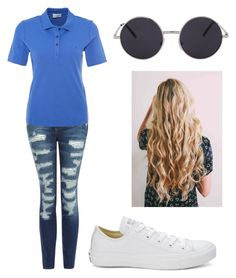 """Untitled #430"" by bunnyxoxo13 on Polyvore featuring Current/Elliott, Converse and Golfino"