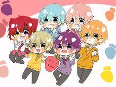 Kawaii Chibi, Happy Girls, My Idol, Sketch, Manga, Twitter, Anime Characters, Sleeve, Drawing