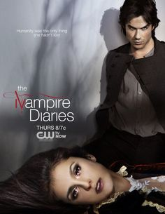 The Vampire Diaries Season 4 Promo Picture - Elena and Damon