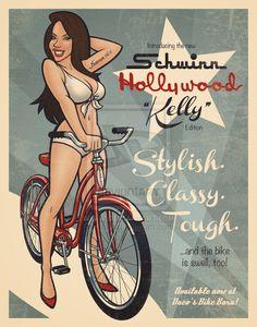 Bikes Schwinn Girls Retro Beers Babes Bikes Vintage