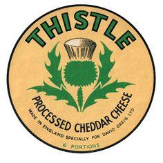 Vintage CheeseLabels - The Dieline - The #1 Package Design Website -