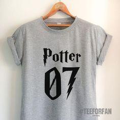 Harry Potter Shirt Harry Potter Merchandise Harry Potter T Shirt Quidditch Jersey Clothes Top Tee for Women Girls Men