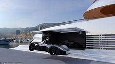 At £500,000, the Marine Edition Mono has special parts that allow it to be lifted on and o...