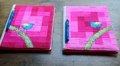 Fabric notebook covers | Flickr - Photo Sharing!