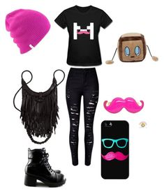 """""""Markiplier"""" by youtubian4ever ❤ liked on Polyvore featuring WithChic, Casetify and Coal"""