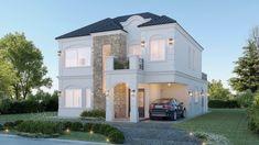 Best Modern House Design, Modern Villa Design, Classic House Design, Modern Exterior House Designs, Minimalist House Design, Modern Architecture House, Dream Home Design, House Outside Design, House Front Design
