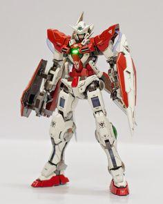 GUNDAM GUY: MG 1/100 Gundam Exia - Painted Build
