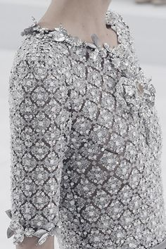 Chanel Haute Couture | Fall 2014 detail.