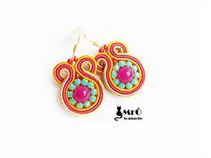 The charming earrings soutache- GOOD PRICE! orecchini soutache,boucles d'oreilles soutache