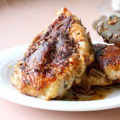 Za'atar Chicken Under a Brick