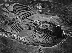 Ampitheater of Muyu-Uray, Peru