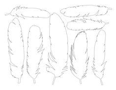 free Feathers.pdf  :motifs de plume à télécharger