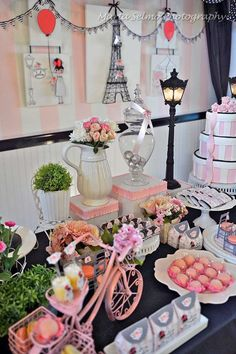 Paris Birthday Party Ideas   Photo 2 of 31   Catch My Party