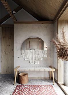 Une cuisine et une salle de bain au design béton dans un appartement pour une jeune famille | PLANETE DECO a homes world | Bloglovin'