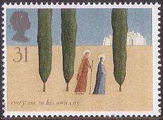 Christmas 31p Stamp (1996) The Journey to Bethlehem