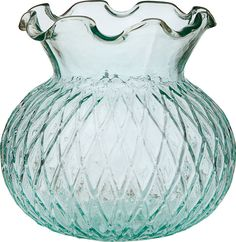 Twice the Awesome: Reuse Your Wedding Things as Home Décor -- vintage green glass vase from LunaBazaar