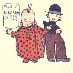 quim e manecas. created by stuart carvalhais. 1915.