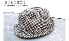 Stetson chapeau homme pied de poule Kane #stetson #chapeau #homme #hat #man #pieddepoule #kane
