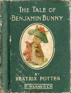 I loved this book when I was little...awww and now were having our very own Benjamin bunny :)