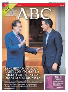 La portada de ABC del viernes 7 de julio