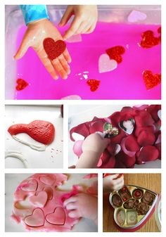 Toddler Valentine's Day Activities | Love how these take less than 5 minutes