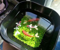 Handpainted Original 3D Resin fish painting by purpleshammrockshop