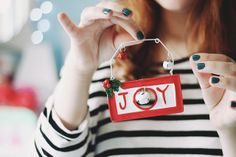Joy! Christmas time! by Honey Pie!, via Flickr Melina Souza - A Series of Serendipity