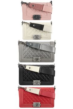 Chanel Boy..yeah if I have the $...much much prettier than the Classic Flap!