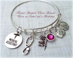Medical Assistant Bracelet Gift for Medical by HopeisHipJewelry
