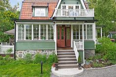 Home Fashion, Villas, My Dream Home, Cottages, Interior And Exterior, Sweden, Tiny House, Household, Middle