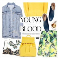 """""""Young blood"""" by teoecar ❤ liked on Polyvore featuring Pull&Bear, Princesse tam.tam, Vera Bradley and Zara"""