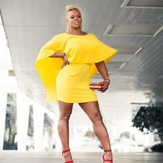 #browngirlslove bright yellow dresses! @clairesulmers better werk!  #dresses #ootd #fashionbombdaily #clairesulmers #fblogger