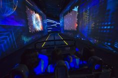 Buckle up for a thrilling tire-squealing mile-long ride at Epcot!