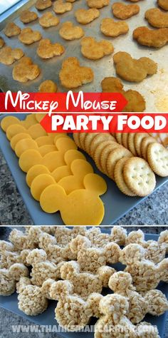 Mickey Mouse party food ideas