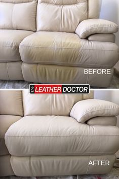 sunblock stains can leave stains and damage to leather if not cleaned. We're able to help remove damage and have your lounge looking like new again in no time Leather Repair, Leather Cleaning, How To Remove, Lounge, Stains, Airport Lounge, Lounge Music, Living Room