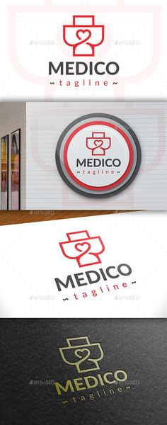 Medic Love Logo - Symbols Logo Templates