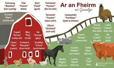 An fheirm Scottish Gaelic, Gaelic Irish, Irish Gaelic Language, Irish Landscape, Celtic Culture, Irish Roots, Primary Teaching, Language Lessons, Ireland