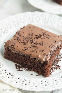 These Frosted Texas Brownies are made with a whisk and a bowl -- no mixer required! They make a huge sheet pan and are perfect for potlucks! Recipe video