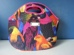 Bolso de neoprene, Lunchera, Necesaire Lunch Box, Bags, Satchel Handbags, Dressmaking, Handbags, Bento Box, Bag, Totes, Hand Bags