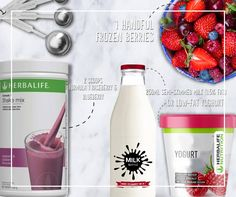 We're in the mood for something very berry. How about you? #LoveMyShake #HerbalifeShake