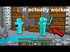 ►MINECRAFT Video: accidentally found people raiding a Minecraft base and joined them invisible. Youtube Minecraft, Minecraft Videos, Find People, Nerf, Base, Toys, Activity Toys, Clearance Toys, Gaming
