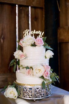 romantic wedding cak