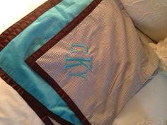 Stroller Cover  :Bella Latella- Monogramming & More #monogram #gift #personalized #present #baby #adult #graduation #travel #personal #unique #doppkit #sorority #totebag #purse #picnic www.BellaLatella.com