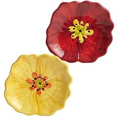 Appetizer plates that go with my flower look